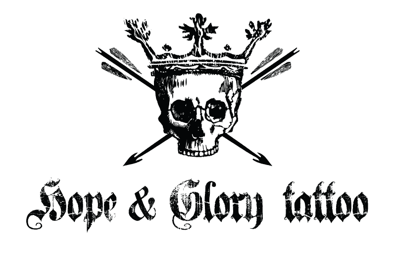 logo-design-for-hope-glory-tattoo-business-cards